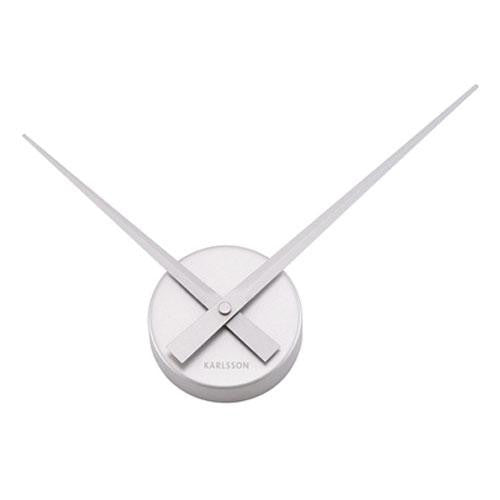 Silver Little Big Time Mini Wall Clock (38cm)