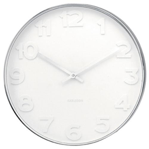 Mr White Wall Clock (37.5cm)