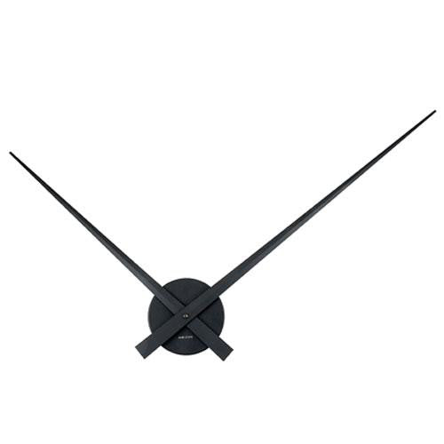 Black Little Big Time Wall Clock (76cm)