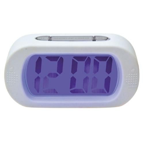 White Gummy Alarm Clock