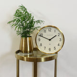 Newgate Master Edwards Clock - Radial Brass