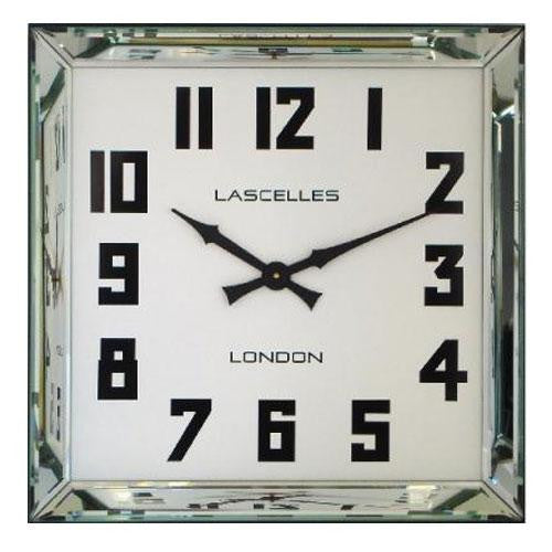 Manhattan Mirror Framed Wall Clock (60cm)