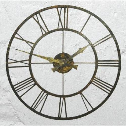 Outdoor/Indoor Clock with Metal Case (50cm)
