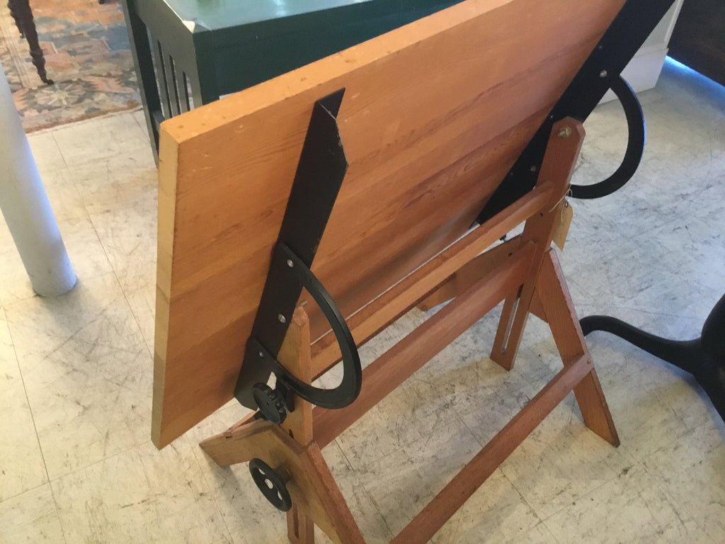 Antiques drafting table