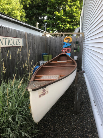 Old town  antique  canoe