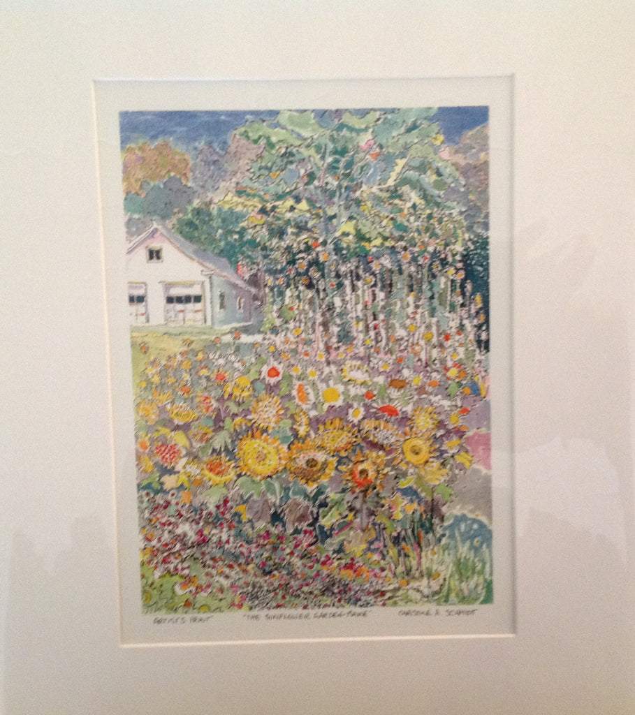 Maine flowers - print (small)