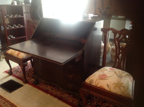 Antique Hathaway secretary desk
