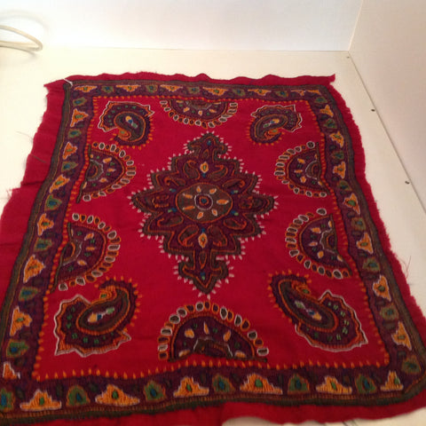 hand made Persian Woollen table cloth