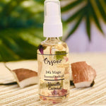 Vanilla Coconut Scented body moisture oil after bath shower body spray