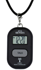 ATOMIC Talking Watch! - Sets Itself 5 SENSES Talking Pendant plus key chain interchangeable UK & USA only (TC-1281B)