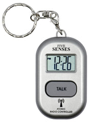 ATOMIC Talking Watch! - Sets Itself 5 SENSES Talking Pendant plus key chain interchangeable UK & USA only (TC-1281A)