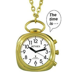 ATOMIC Talking Watch - Sets Itself SENSES Women Beautiful Trendy Gold tone Talking Pendant 1027