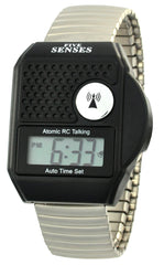 ATOMIC Talking watch - Top Button LCD Atomic Talking Watch UK & USA only (TC-1095 )