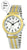 Talking Watch 2nd GENERATION ! Women 2 -Tone Alarm low vision metal Talking Watch 1155