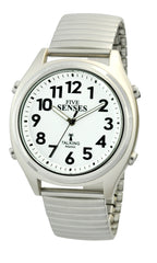 ATOMIC! Talking Watch - Sets Itself 5 SENSES Unisex Stylist Talking Watch (TC-1098)