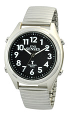 ATOMIC! Talking Watch - Sets Itself 5 SENSES Unisex Stylist Talking Watch (TC-1100)