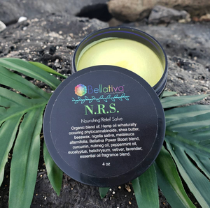 NRS! Nourishing Relief Salve (4oz jar)