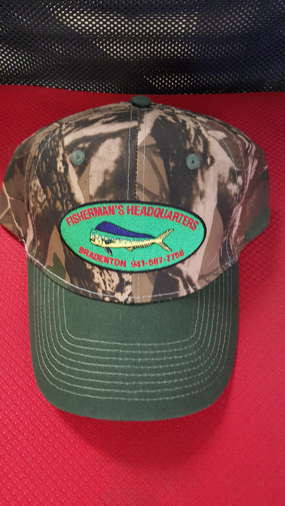 FISHERMEN'S HEADQUARTERS BALL CAP - FISHERMEN'S HEADQUARTERS