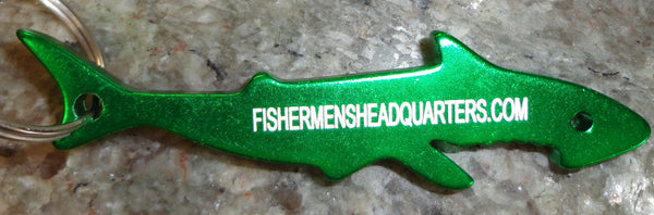 FISHERMEN'S HEADQUARTERS KEY CHAIN - FISHERMEN'S HEADQUARTERS