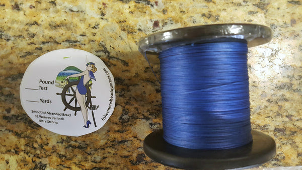 545 yard spools Fishermen's Headquarters Braided line $24.44 and up - FISHERMEN'S HEADQUARTERS