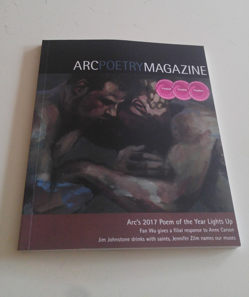 My How Poems Work essay on David McFadden appears in Arc's Summer issue