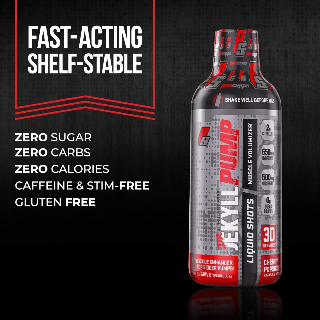 ProSupps Dr. Jekyll Pump Liquid Shots Pre-Workout 30 Servicios– One Last Rep