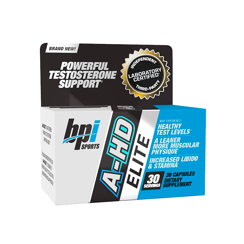 Bpi Sports A-HD Elite Aumento Natural Testosterona 30 Cápsulas Precursor Natural Testosterona onelastrep.cl