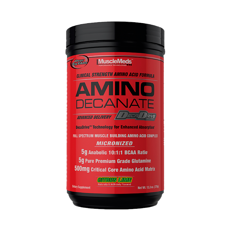 MuscleMeds Amino Decanate Post-Workout 30 Servicios Aminoácidos onelastrep.cl