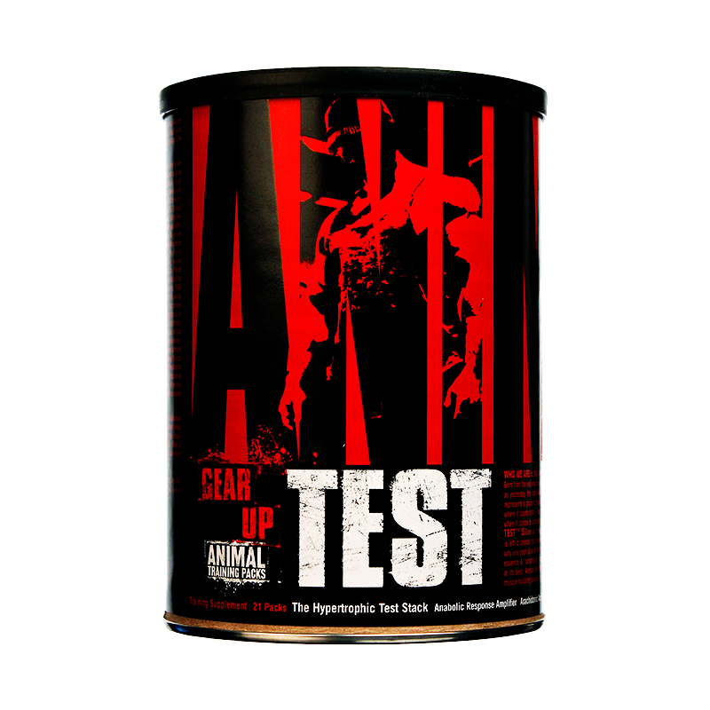 Universal Nutrition Animal Test Precursor Natural Testosterona 21 Packs