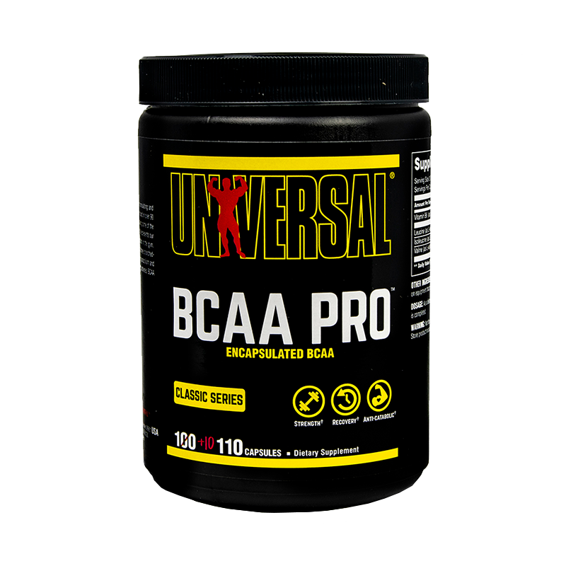 Universal Nutrition BCAA Pro 100 Capsulas BCAA's onelastrep.cl