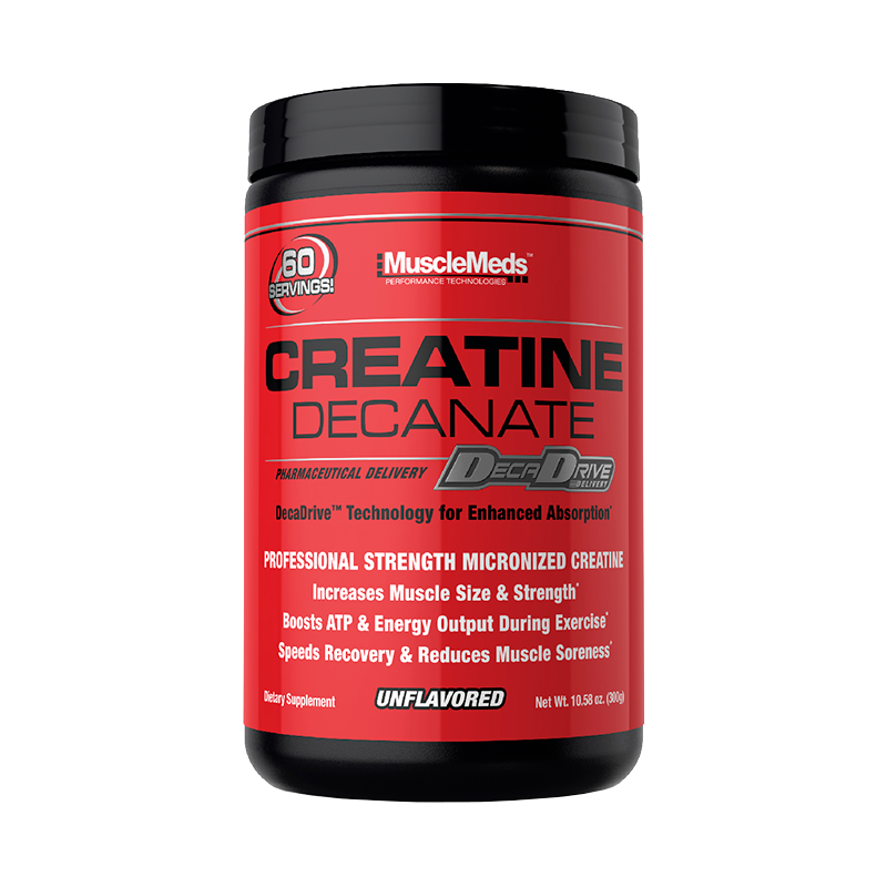 MuscleMeds Creatine Decanate Creatina 300 Gr Creatinas onelastrep.cl