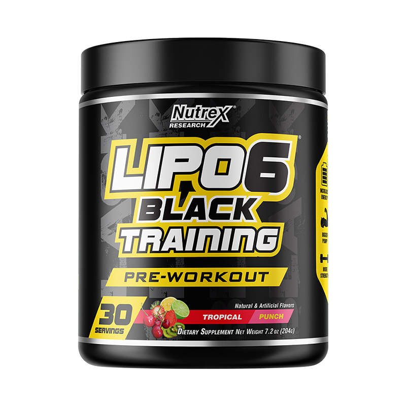Nutrex Lipo-6 Black Training Pre-Workout 30 Servicios
