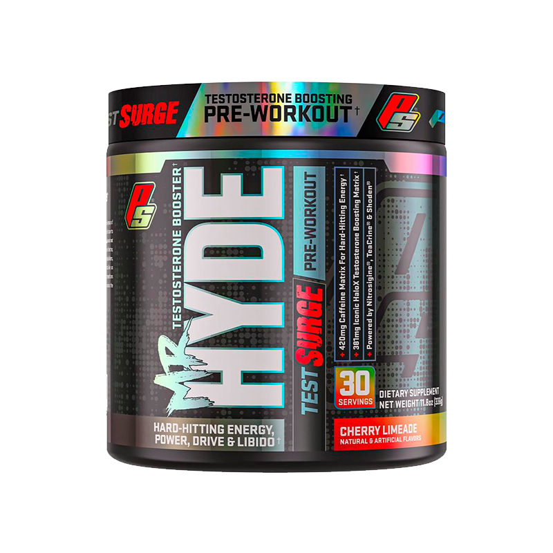 ProSupps Mr. Hyde Test Surge Pre-Workout / Pro-Hormonal 30 Servicios Pre-Workout onelastrep.cl