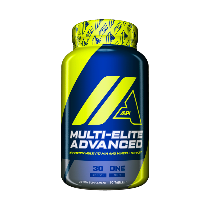 API Multi-Elite Advanced Multivitaminico 90 Tabletas Multivitamínicos onelastrep.cl