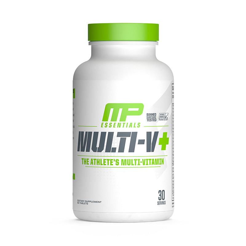 Musclepharm Multi-V+ Multivitaminico 60 Tabletas Multivitamínicos onelastrep.cl