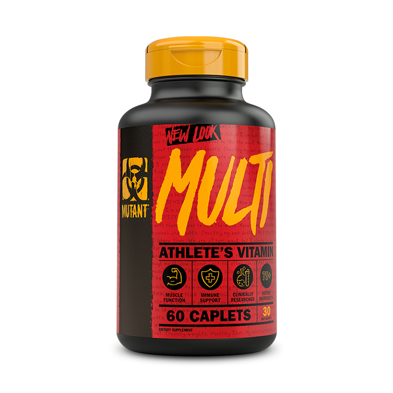 Mutant Multi Multivitaminico 60 Tabletas Multivitamínicos onelastrep.cl