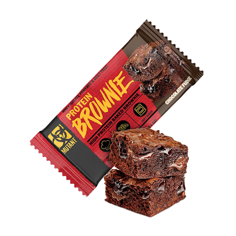 Mutant Protein Brownie Snack Proteina