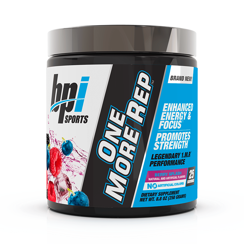 Bpi Sports One More Rep Pre-Workout 25 Servicios Pre-Workout onelastrep.cl