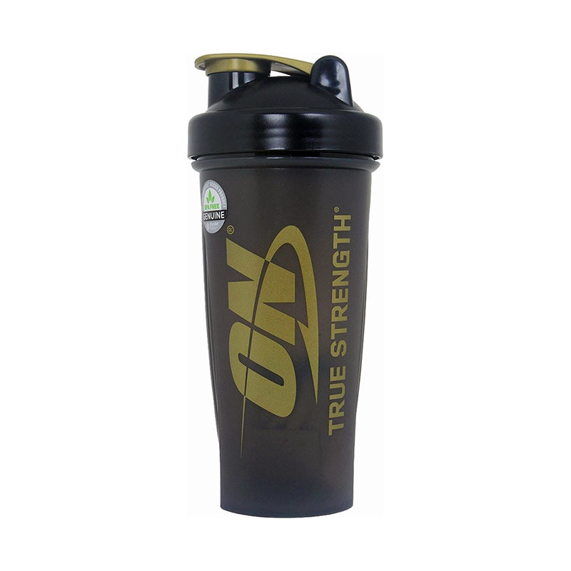 Optimum Nutrition Blender Bottle Shaker - Black Gold 600 Ml Shaker onelastrep.cl