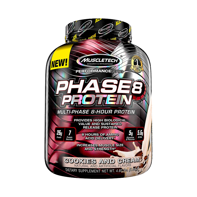 Muscletech Phase8 Protein Proteina 4.6 Lb Proteínas onelastrep.cl