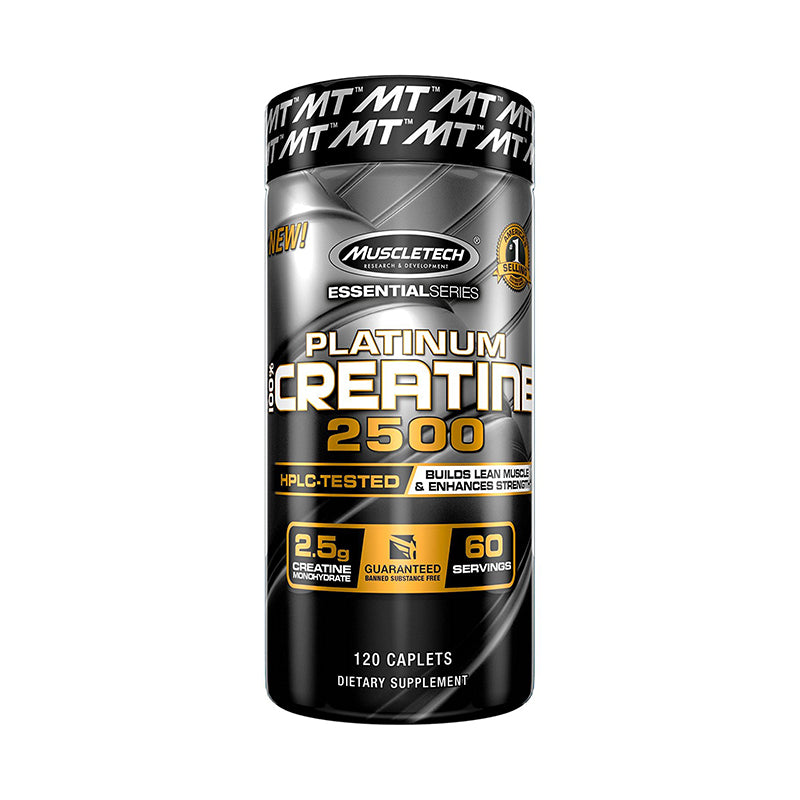 Muscletech Platinum 100% Creatine 2500 120 Tabletas Creatinas onelastrep.cl