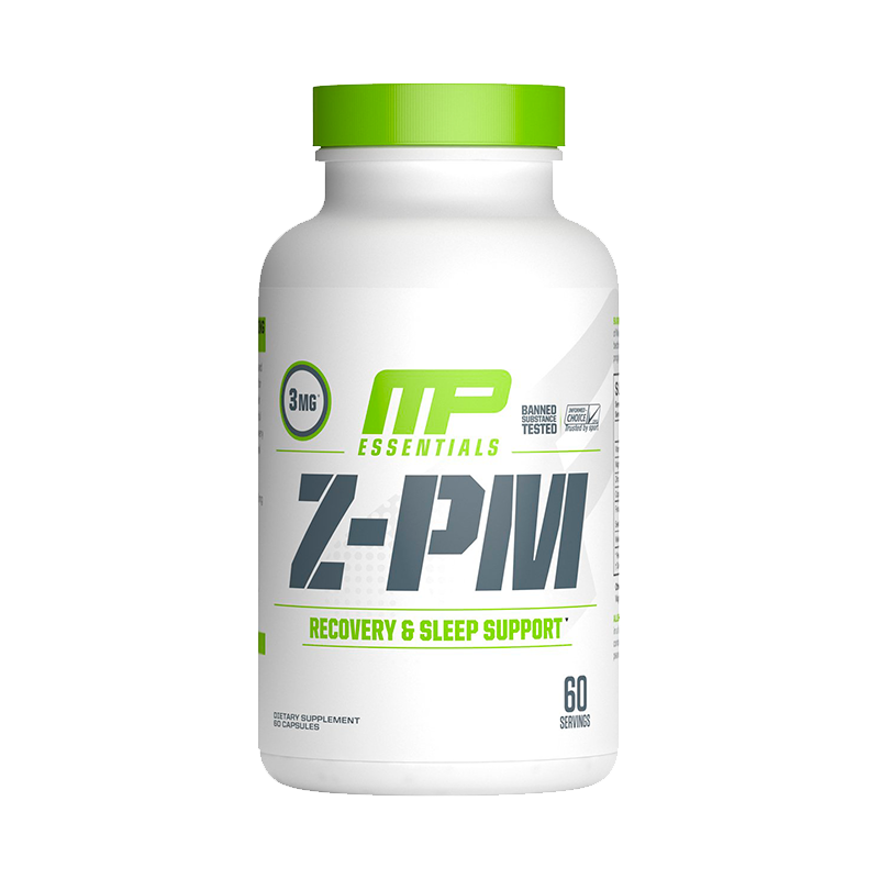 Musclepharm Z Core PM 60 Capsulas ZMA onelastrep.cl