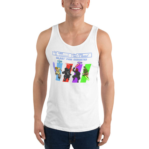 SELECT YOUR CHARACTER TANK TOP