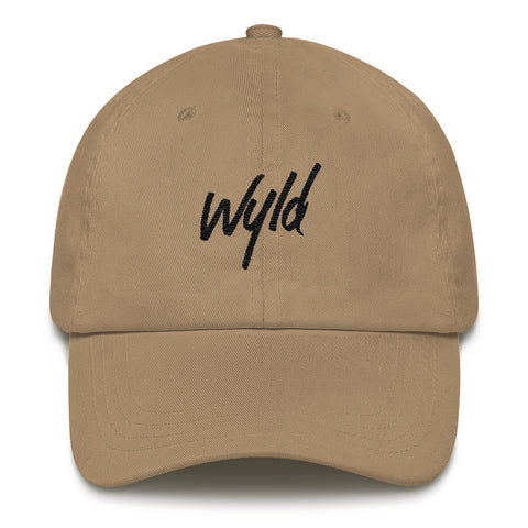 WYLD DAD HAT BLACK LOGO