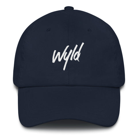 WYLD DAD HAT WHITE LOGO