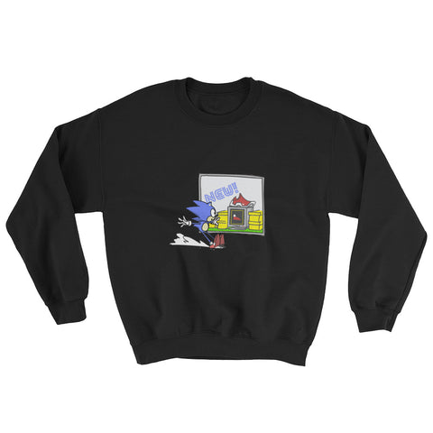 SPEEDY SHOPPER SWEATSHIRT