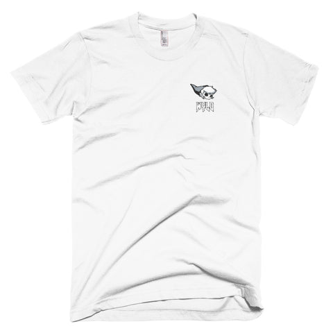 DEAD LINK STITCHED WHITE TEE