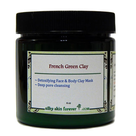 French Green Clay Pore Cleansing Facial and Body Mask