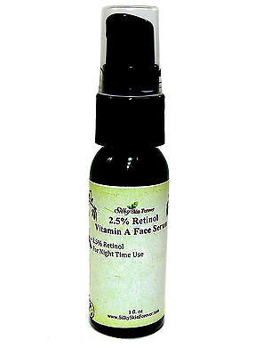 2.5% Retinol Vitamin A Face Serum - with Hyaluronic Acid