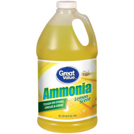 Ammonia for cleaning jewellery